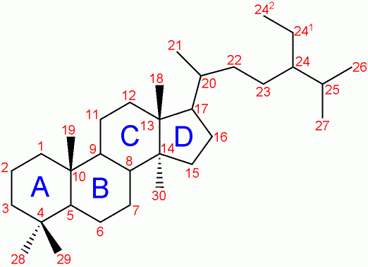 numbering steroids nomenclature